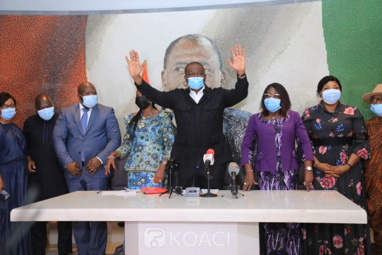 Côte d'Ivoire : Législatives 2021 à Abobo, Kandia Camara annonce que le Premier ministre a décidé de prendre en compte le budget de campagne des candidats