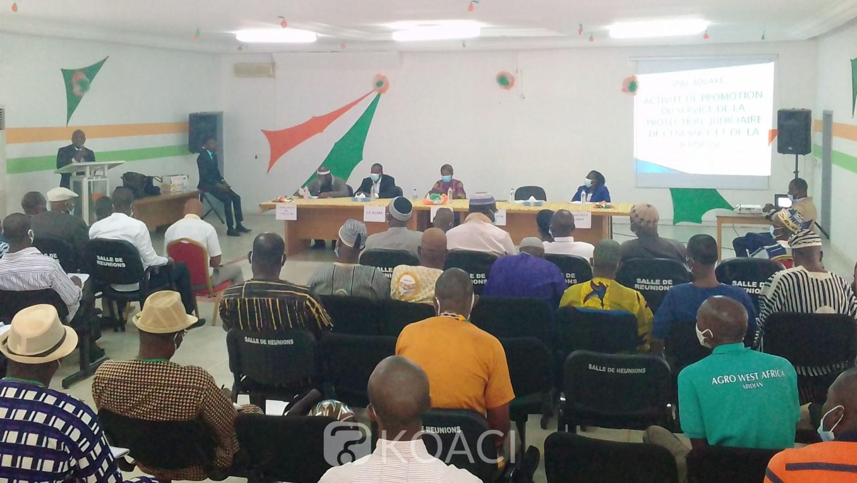 Côte d'Ivoire : Bouaké, méconnu des habitants, le SPJEJ présenté à la population par le procureur de la République