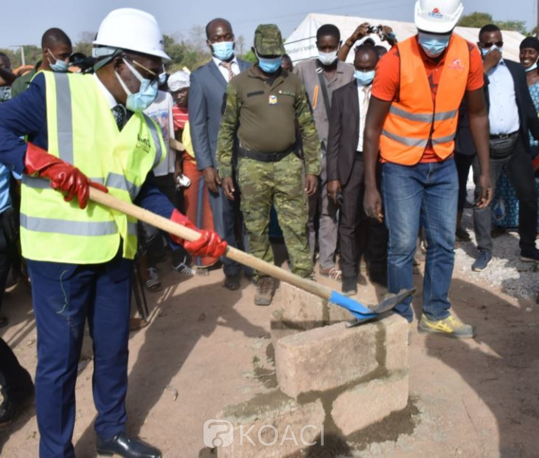Côte d'Ivoire : Lancement des travaux du Centre Hospitalier Régional (CHR) de Boundiali dont le coût est estimé à 40 milliards FCFA