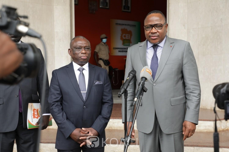 Côte d'Ivoire : Scrutin législatif du 6 mars, recevant KKB, Kuibiert Coulibaly rassure « Nous sommes prêts pour mener à bien notre mission »