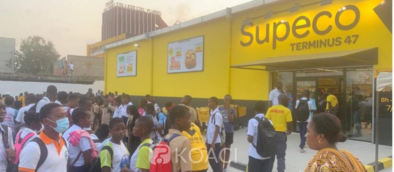 Côte d'Ivoire : Supeco poursuit sur sa lancée, ouverture à Yopougon Sogefiha