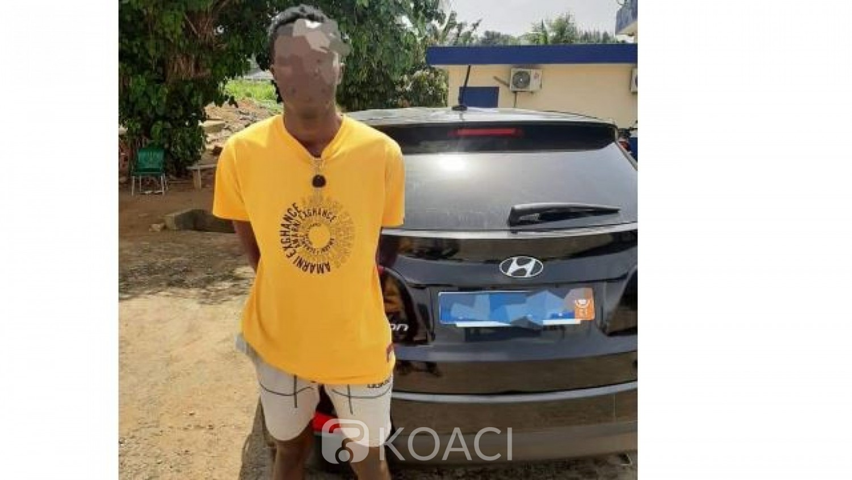 Côte d'Ivoire : À Cocody, il vole le véhicule de marque de son voisin et le met en gage à 20.000 FCFA dans un garage