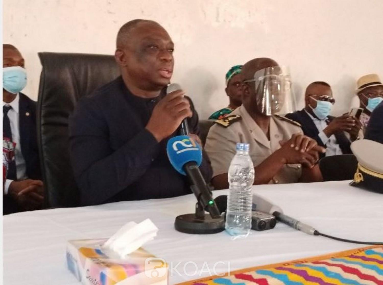 Côte d'Ivoire : Depuis Sakassou, le Ministre de la Réconciliation  martèle : « Le sang a trop coulé et ça ne peut pas continuer comme ça »