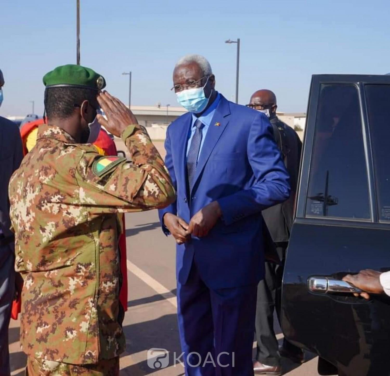 Burkina Faso : Le président de la transition malienne Bah N'daw en visite à Ouagadougou