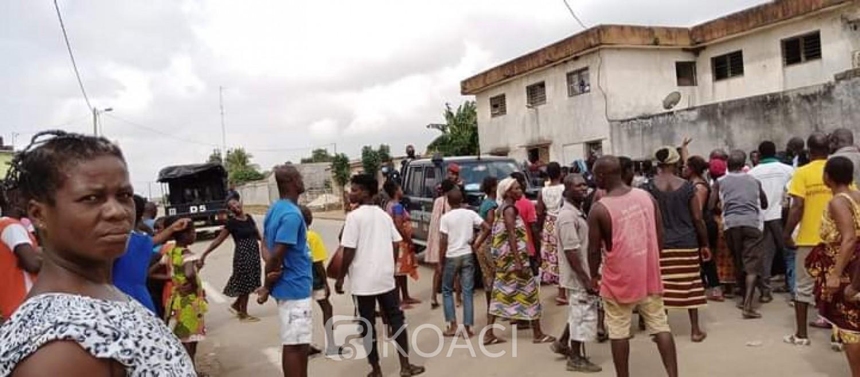 Côte d'Ivoire : Bingerville, chaude journée dans le village de M'Batto-Bouaké, des populations remontées contre l'installation d'un chef gazées