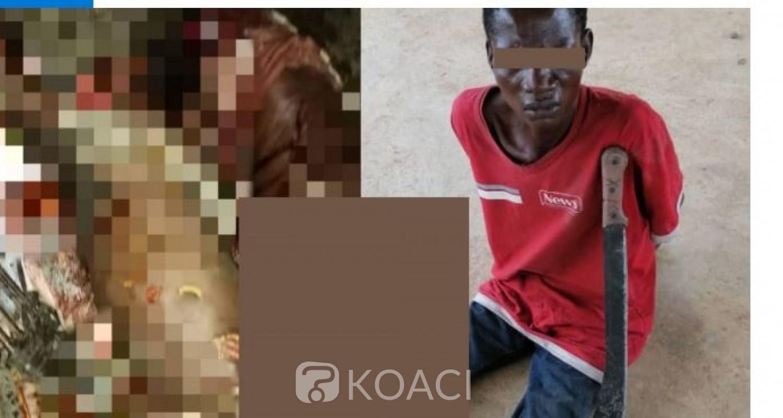 Côte d'Ivoire : Vavoua, un père, découpe à la machette ses 02 enfants de 12 et 14 ans