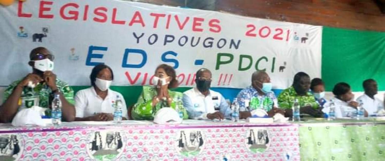 Côte d'Ivoire : Législatives 2021, les candidats PDCI et EDS au RHDP « allez dire à nos adversaires que la récréation est terminée, nous allons récupérer Yopougon »