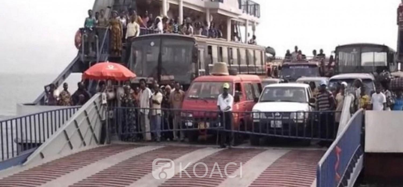 Ghana :  Des passagers momentanément bloqués sur le lac Volta