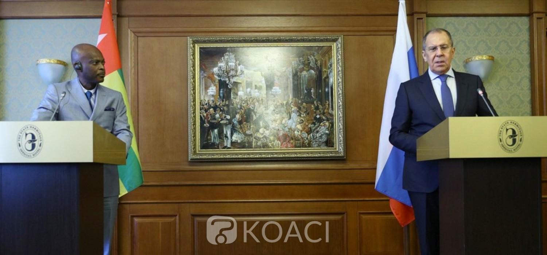 Togo-Russie :  Rapprochement acté, relations bilatérales, santé et affaires africaines