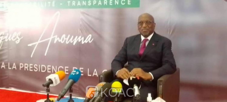 Côte d'Ivoire : Présidence de la CAF, Anouma dévoile les  grands axes de son programme et rassure être  sur la ligne d'attaque pour la victoire le 12 mars prochain