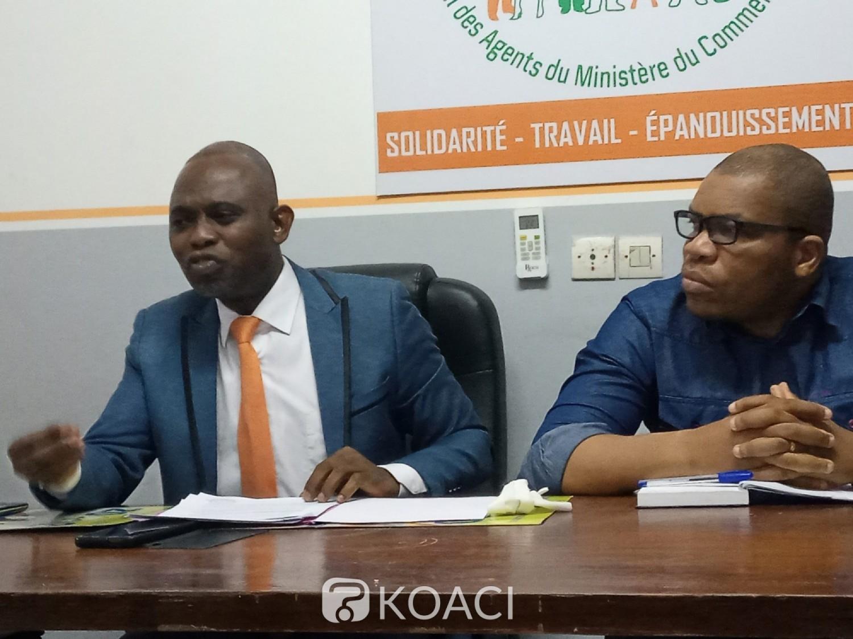 Côte d'Ivoire :    Ministère du Commerce, le SYNAMIC-CI annonce un arrêt de travail à compter du 8 mars 2021 pour exiger « l'amélioration des conditions de vie et de travail des agents »