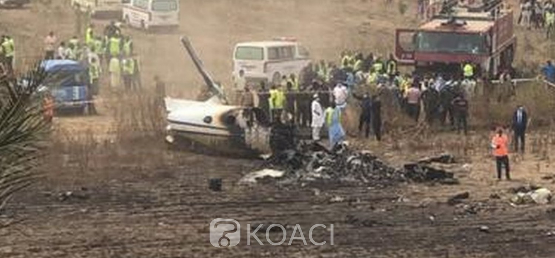 Nigeria :   Crash d'un avion militaire à Abuja, 7 morts