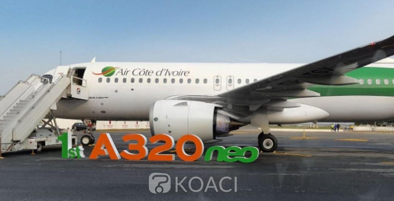 Côte d'Ivoire : Elle reçoit un nouvel Airbus A320 mais Air Côte d'Ivoire toujours dans le rouge