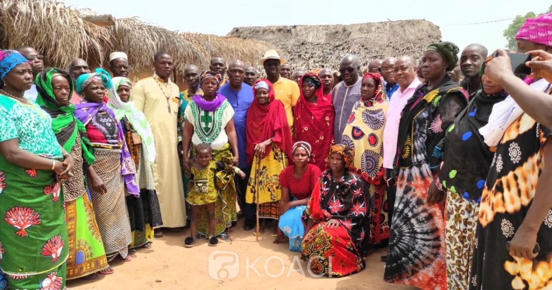 Côte d'Ivoire : Satama-Sokoura-Sokoro, présenté au peuple Djamala et Banôgô, le candidat RHDP aux législatives Adama Coulibaly obtient le soutien de ses parents