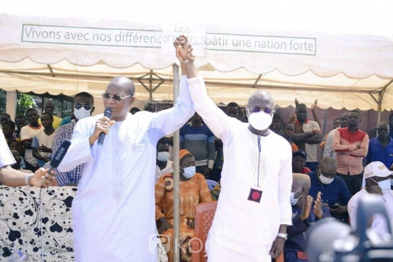 Côte d'Ivoire : Législatives 2021,  précampagne dans la Bagoué, les militants invités à rester loyaux à Alassane Ouattara et au Rhdp