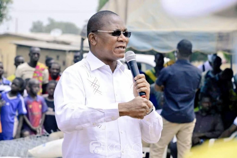 Côte d'Ivoire : Bruno Koné aux acteurs politiques de la Bagoué « sortez de la petite politique du dénigrement et de l'insulte »