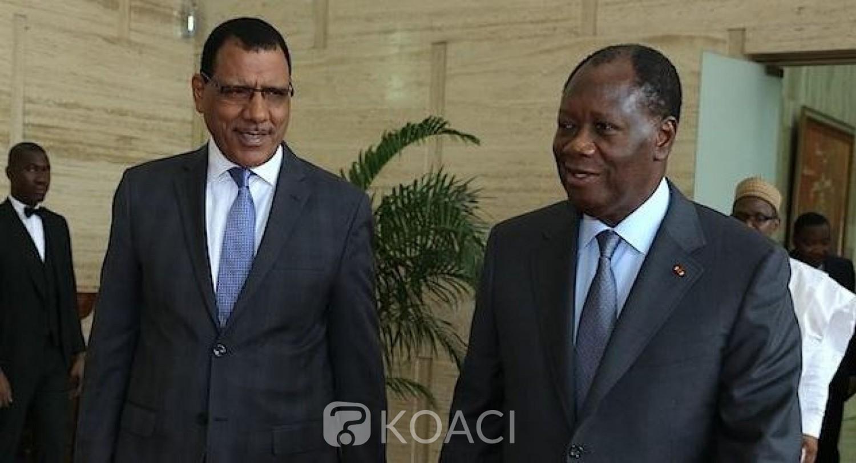 Côte d'Ivoire-Niger : Après l'annonce des résultats provisoires, Alassane Ouattara félicite Mohamed Bazoum