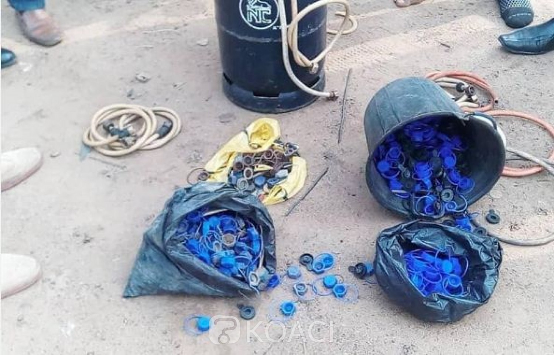 Cameroun : 600 bouteilles de gaz saisies dans un réseau de siphonnage à Douala