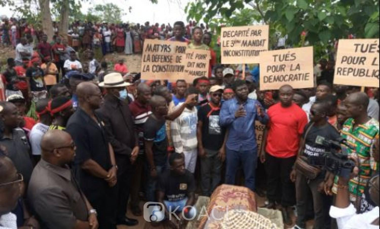 Côte d'Ivoire : Violences  électorales en 2020, les assassins de Koffi Toussaint atrocement tué à Daoukro enfin  interpellés ?