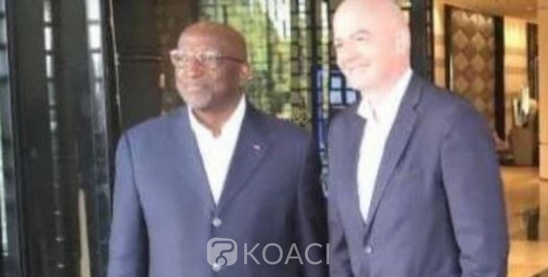 Côte d'Ivoire : La visite du président de la FIFA à Abidjan reportée à la dernière minute
