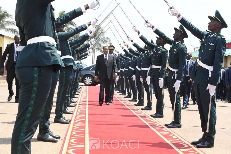 Cameroun : Biya, chef des forces armées absent à la prise d'armes de la 38e promotion de l'Emia, une première