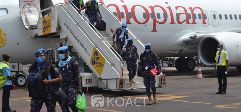 Togo-Soudan :  Fin de mission et retour des casques bleus togolais au bercail