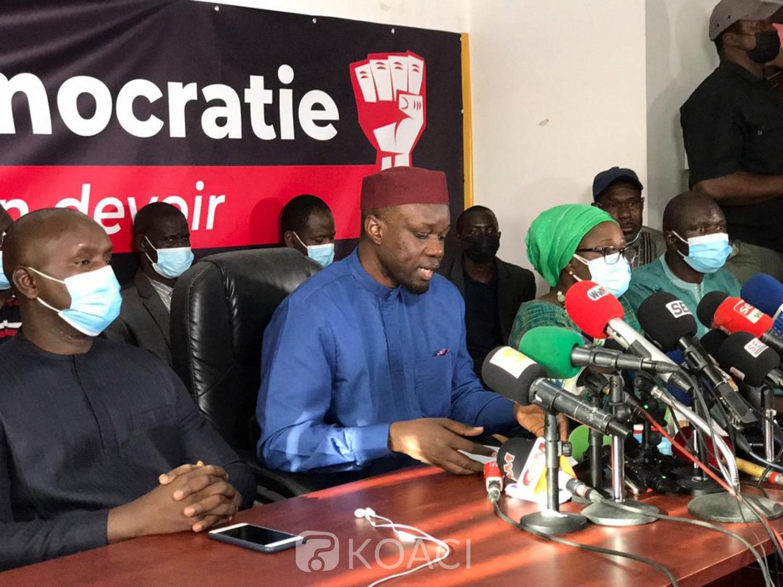 Sénégal : Visé par une plainte, l'immunité parlementaire de l'opposant Ousmane Sonko levée ce vendredi