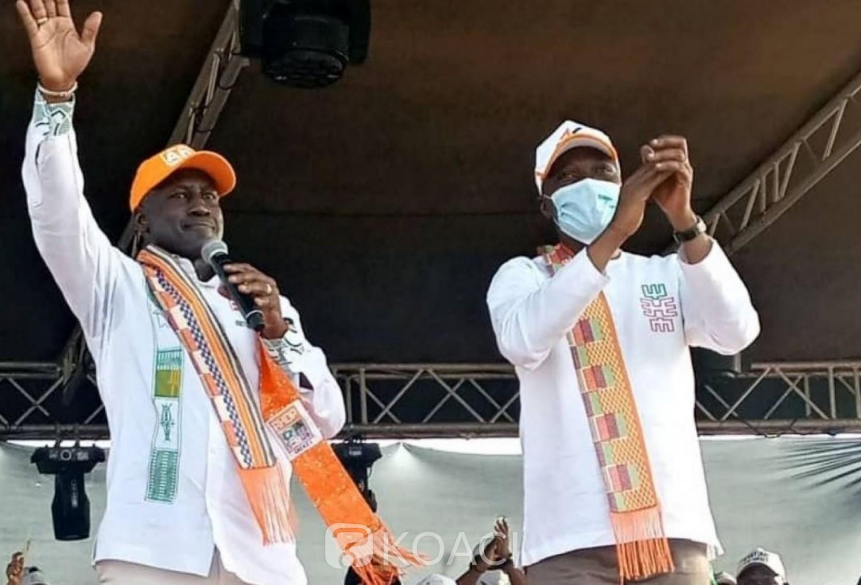 Côte d'Ivoire : Bictogo au lancement de la campagne d'Amadou Koné à Bouaké : « On doit gagner ces élections pour que le PDCI, le FPI et le FPI Gbagbo la ferme...»