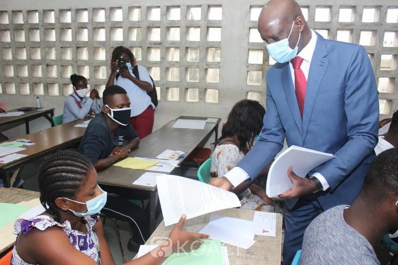 Côte d'Ivoire :  BTS session 2021, les inscriptions en ligne démarrent le 1er mars pour prendre fin à la fin du mois
