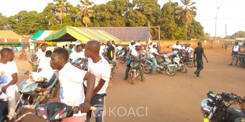 Côte d'Ivoire : Ferké, un candidat sollicité pour l'achat de carburant destiné aux motos de campagne déclare qu'il n'a « pas d'argent pour ça...»