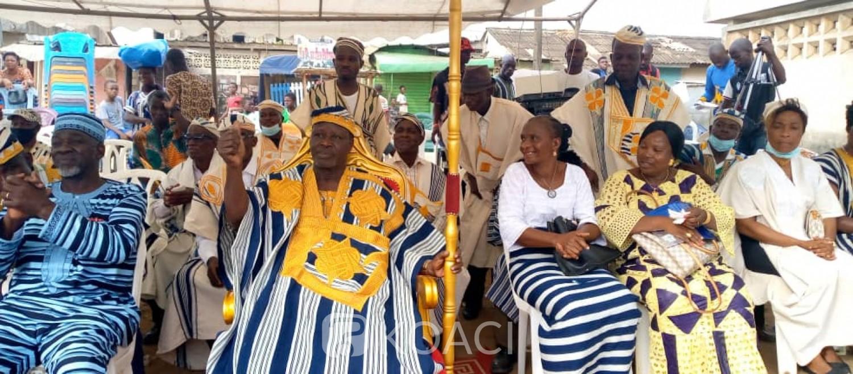 Côte d'Ivoire : Yopougon, investi, le chef de la communauté wê de Micao appelle à la tenue d'élections législatives apaisées