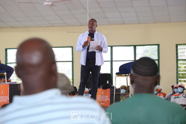 Côte d'Ivoire : Daloa, Mamadou Touré initie un Meet-up pour expliquer le programme « Côte d'Ivoire solidaire » d'Alassane Ouattara