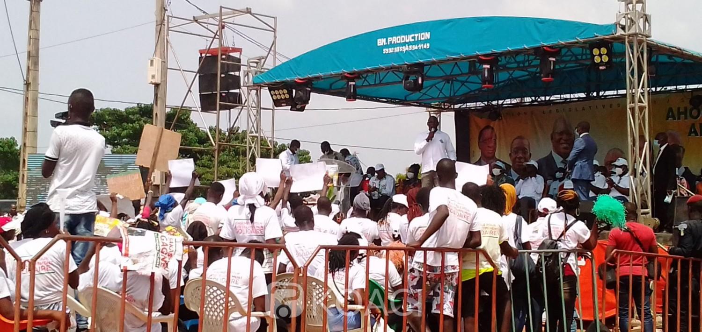 Côte d'Ivoire : Souhaitant « être une solution pour Sakassou comme ADO pour la Côte d'Ivoire », Ahoutou Koffi offre un fond de 25 millions aux jeunes et femmes