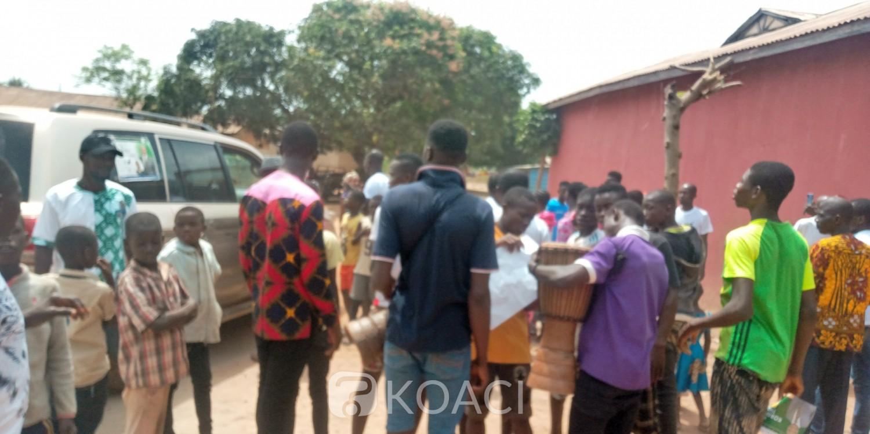 Côte d'Ivoire : Législatives, à Odienné et à Transua, des candidats du Parti au pouvoir chutent en plein meeting, l'un évacué par hélicoptère