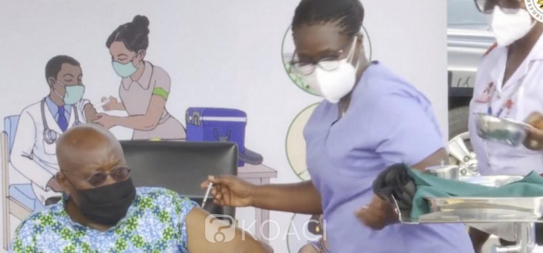 Ghana :  Vaccin contre Covid-19, Akufo-Addo ouvre le bal et rassure