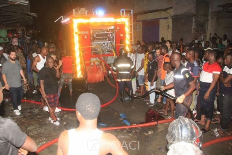 Côte d'Ivoire : Effondrement d'un immeuble à Abobo, 1 mort et 3 blessés graves