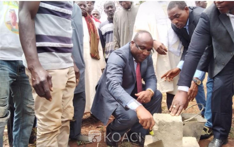 Côte d'Ivoire : Les travaux de la future mairie de Foungbesso (Touba) lancés