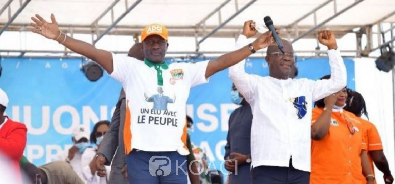 Côte d'Ivoire : Législatives 2021, Bictogo promet trois centres de santé et une usine de transformation du manioc à Agboville