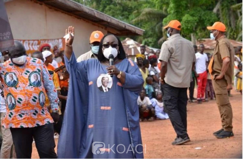 Côte d'Ivoire : Législatives 2021, Anne Ouloto : « Toulepleu a besoin d'un Député qui parle peu, et agit beaucoup »