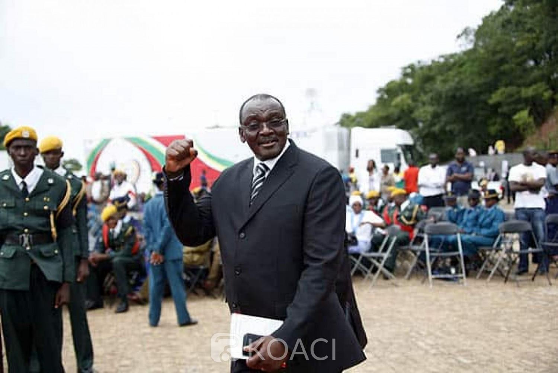 Zimbabwe : Le vice-président   Kembo Mohadi annonce sa démission