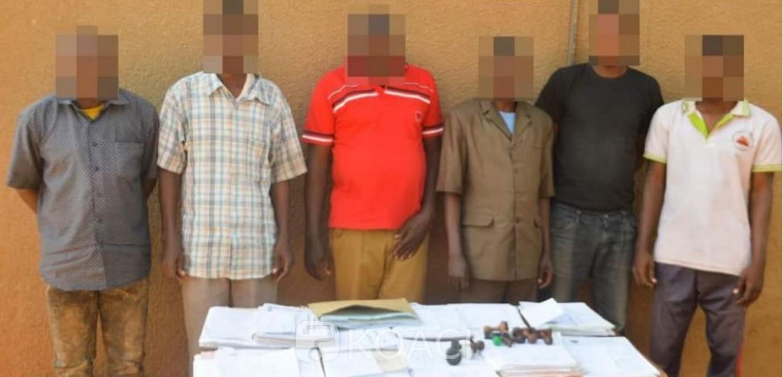 Burkina Faso : Un réseau de faussaires de documents administratifs ivoiriens démantelé à Ouagadougou