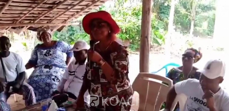 Côte d'Ivoire : Affaire sa candidature soutenue par Gbagbo, Odette Lorougnon répond à Guikahué «Pour un petit poste de député, toi tu as été tout dans ce pays, tu mens »