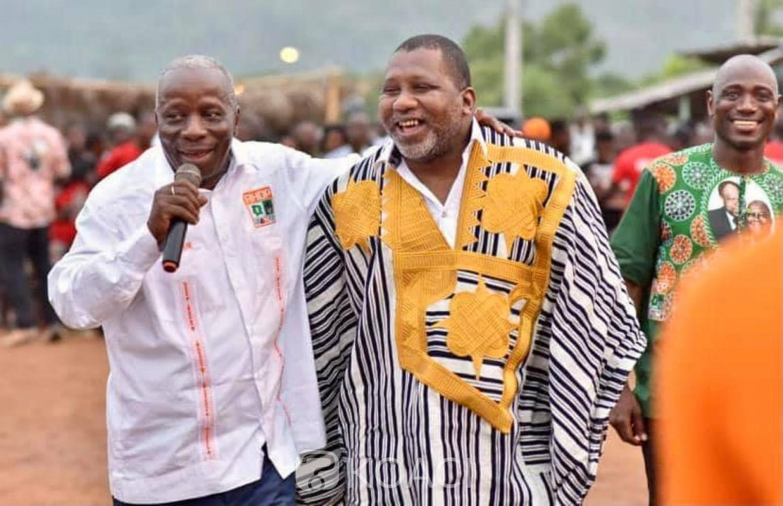 Côte d'Ivoire : A Man, guéguerre entre cadres du RHDP, Sidiki Konaté accuse le chargé de mission de Téné Birahima