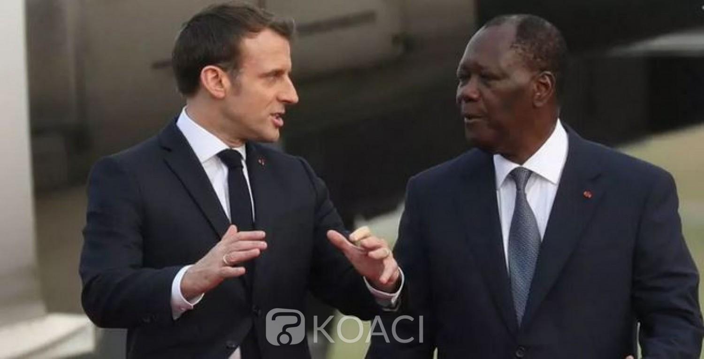 Côte d'Ivoire : Alassane Ouattara de retour à Abidjan jeudi après le diner avec Emmanuel Macron ce soir
