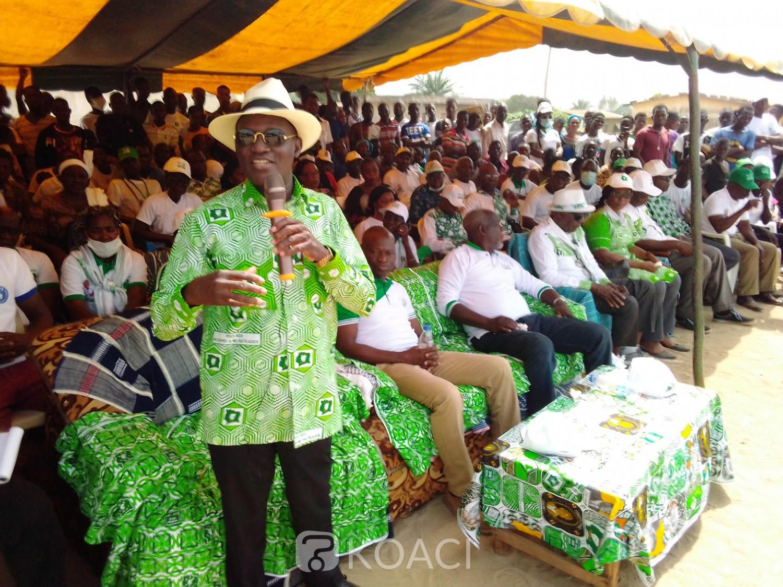 Côte d'Ivoire : Devant Mangoua, maître Blessy au RHDP, « si Sidi bitume Béoumi il va partir, si Sidi bitume pas Béoumi il va partir...»
