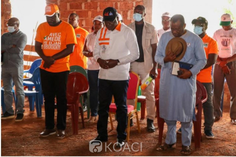 Côte d'Ivoire : Législatives 2021, le candidat Amédé Kouakou se confie à « Dieu » pour des élections législatives apaisées