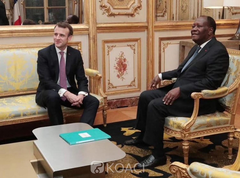 Côte d'Ivoire : Pas de Gbagbo ou de législatives, Ouattara et Macron s'épanchent sur des sujets plus globaux
