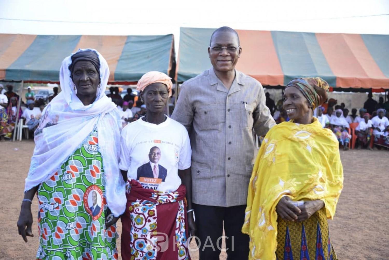 Côte d'Ivoire : Législatives à Kouto, face à ses adversaires, Bruno Koné opte pour une campagne de proximité