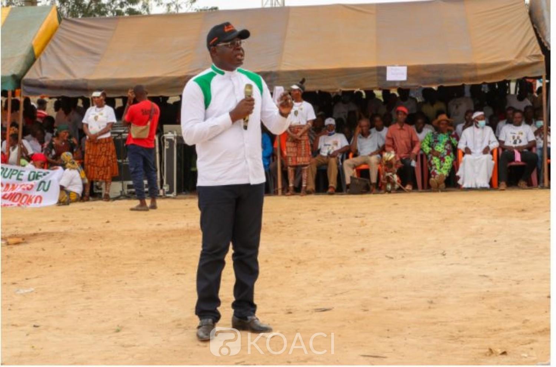 Côte d'Ivoire : Législatives à Divo, à la veille du scrutin le Ministre Amédé revèle : « certains candidats voudraient provoquer le désordre et l'accuser »