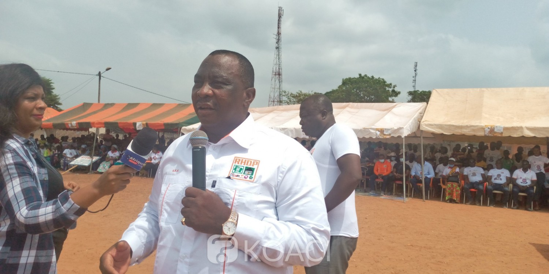Côte d'Ivoire : Législatives à Transua, Adjoumani à la rescousse du candidat du Rhdp
